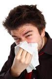Influenza ottenuta immagini stock