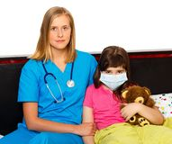 Influenza Treating Royalty Free Stock Photo