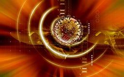 Influenza virus Stock Images