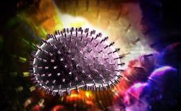 Influenza virus Stock Image