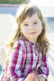 A infância feliz Fotografia de Stock Royalty Free