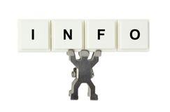 Info royalty-vrije stock afbeelding