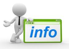 Info Royalty-vrije Stock Foto's