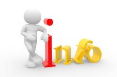 info ilustração royalty free