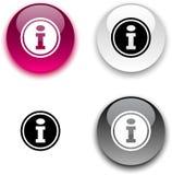 Info button. Royalty Free Stock Photos