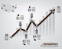 Info chart template Stock Photos