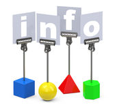 The info Stock Images