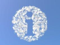 Info dalle nubi Fotografia Stock