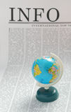 Info global Imagen de archivo libre de regalías