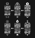 Diseño tipográfico Fotografía de archivo libre de regalías