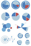 Info graphic. Round info graphic ,pie chart illustration vector illustration