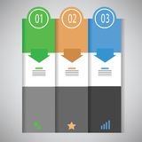 Info graphic business template Royalty Free Stock Image