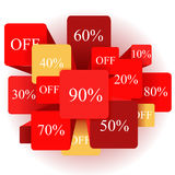 Info-graphic elements. sale. stock  Royalty Free Stock Photo