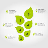 Info graphic plant2 Royalty Free Stock Photo