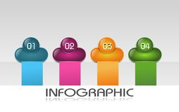 Info graphic template Stock Images