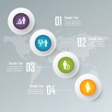 Info graphic vector Stock Photography