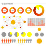 Info Graphic Vectors Set Stock Photo