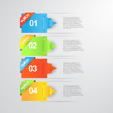 Info graphics banners. This is color full info graphic vector file use any size Stock Photography