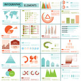 Info graphics collection Royalty Free Stock Photos