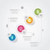 Info graphics Royalty Free Stock Photography