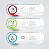 Info graphics vertical template Royalty Free Stock Photos