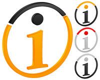 Info icon Stock Photos