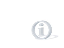 Info symbol. Isolated grey info symbol with reflection on a white background Royalty Free Stock Photography