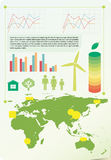 An infochart showing the environment Stock Photo