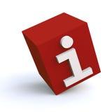 infocube 3d Стоковые Фотографии RF