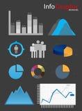 Infogaphic-Elemente. Stockbild