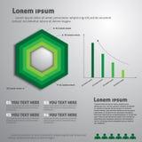 Infografía ilustración del vector