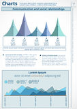 Infografía Foto de archivo libre de regalías