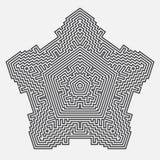 Infografía Fondo futurista del vector Fotografía de archivo