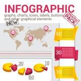 Infografic Set Royalty Free Stock Photos