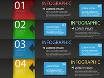Infograhic Modern Design template Royalty Free Stock Photos