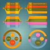 Infograpdics Vektor Illustrationer