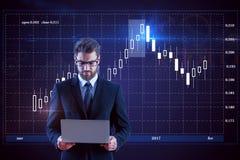 Infograph e conceito da gestão Fotografia de Stock