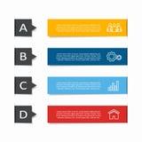 Infographic与地方的设计模板您的数据的 也corel凹道例证向量 库存例证