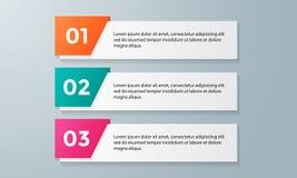 Infographic为企业介绍设置的模板组装 图库摄影