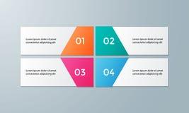 Infographic为企业介绍设置的模板组装 库存照片