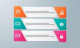 Infographic为企业介绍设置的模板组装 免版税库存图片
