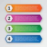 Infographic为企业介绍设置的模板组装 免版税图库摄影