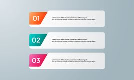 Infographic为企业介绍设置的模板组装 免版税库存照片