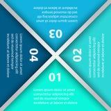 Infographic为企业介绍设置的模板组装 库存图片