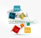 infographic传染媒介新企业的摘要 免版税图库摄影