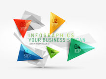 infographic传染媒介新企业的摘要 免版税库存照片