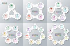 infographic传染媒介的圈子 免版税图库摄影