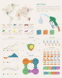 Infographic元素 库存图片