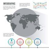 Infographic全世界 皇族释放例证