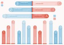 Infographic图表选择概念 免版税库存图片